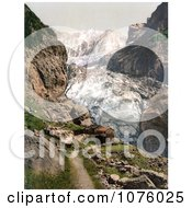 Baregg Inn Hotel Near Baregg Glacier In Grindelwald Bernese Oberland Switzerland Royalty Free Stock Photography by JVPD
