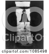 Bell In A Bell Tower Acoma Indian Architecture Free Historical Stock Photography by JVPD