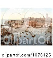 Boats In The Harbor In Margate Thanet Kent England UK Royalty Free Stock Photography