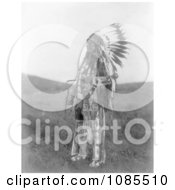 Brule Native American Man Named High Hawk Free Historical Stock Photography by JVPD