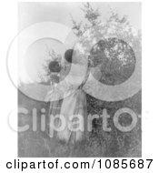 Buffalo Berry Gatherers Free Historical Stock Photography