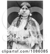 Cayuse Native American Woman Free Historical Stock Photography