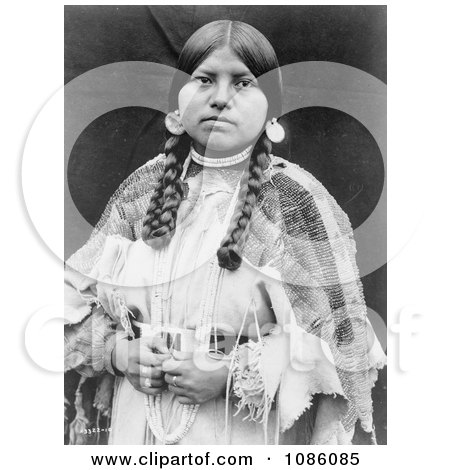 Cayuse Native American Woman - Free Historical Stock Photography by JVPD