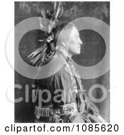 Charging Thunder Sioux Indian Man Free Historical Stock Photography