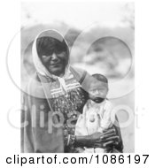 Chemehuevi Indian Mother And Child Free Historical Stock Photography by JVPD