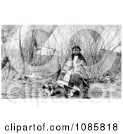 Cheyenne Indian Girl Named Minnie Chips Free Historical Stock Photography
