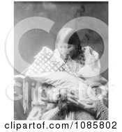 Cheyenne Indian Mother With Baby Free Historical Stock Photography