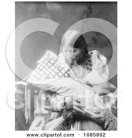 Cheyenne Indian Mother With Baby - Free Historical Stock Photography by JVPD