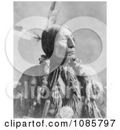 Cheyenne Native American Indian Named Wolf Robe Free Historical Stock Photography