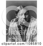 Cheyenne Native American Woman Free Historical Stock Photography by JVPD