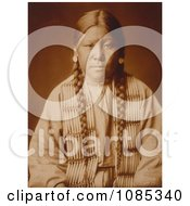 Cheyenne Native Girl Free Historical Stock Photography