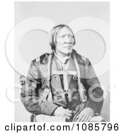 Cheyenne Native Man Named Little Robe Free Historical Stock Photography