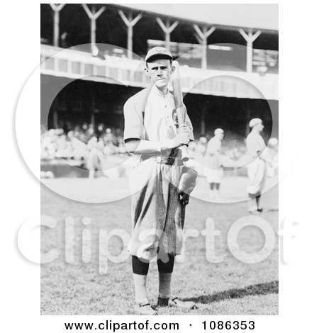 Chicago Orphans/Cubs Baseball Player, Johnny Evers - Free Historical Baseball Stock Photography by JVPD