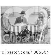 Chief American Horse Becoming An American Citizen Free Historical Stock Photography by JVPD