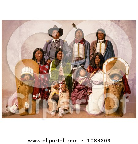 Chief Sevara and Family - Free Historical Stock Photography by JVPD