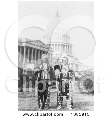 Chiefs at the US Capitol - Free Historical Stock Photography by JVPD