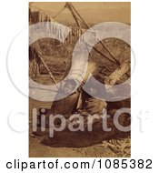 Child And Baby Ute Free Historical Stock Photography