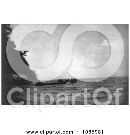 Chinook Indians and Canoes - Free Historical Stock Photography by JVPD