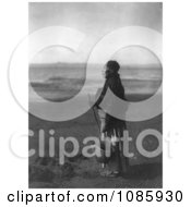 Chinook Woman On Beach Free Historical Stock Photography by JVPD