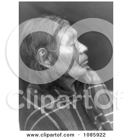 Chinook Woman's Profile - Free Historical Stock Photography by JVPD