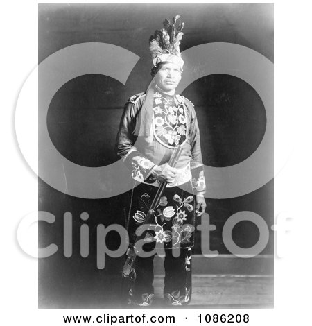 Chippewa Indian - Free Historical Stock Photography by JVPD