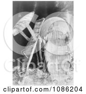 Chukchansi Cradle Baskets Free Historical Stock Photography by JVPD