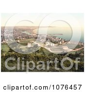 Cityscape Of The Coastal Village Of Ramsey Isle Of Man England Royalty Free Stock Photography