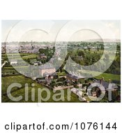 Cityscape With The Cathedral In Hereford West Midlands England UK Royalty Free Stock Photography