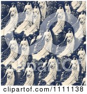Clipart Collage Pattern Of A Victorian Bride Royalty Free Historical Stock Photo