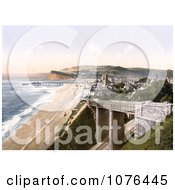 Coastal Bridge In Teignmouth Devon England United Kingdom Royalty Free Stock Photography