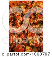 Cooked Veggie Pizza Royalty Free Stock Photo by Kenny G Adams