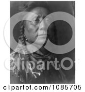 Coups Well Known Apsaroke Man Free Historical Stock Photography