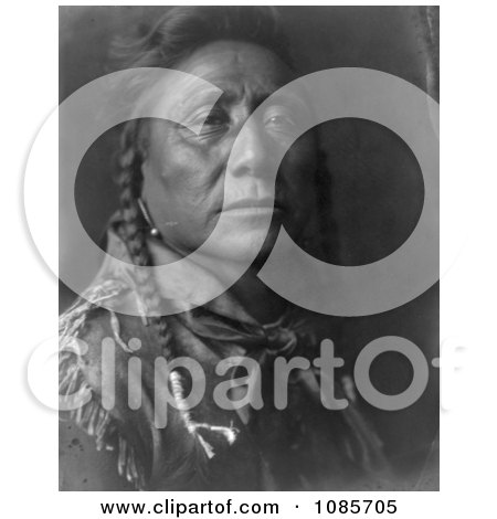 Coups Well Known, Apsaroke Man - Free Historical Stock Photography by JVPD