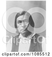 Creek Indian Man Called Chitto HarjoCrazy Snake Free Historical Stock Photography