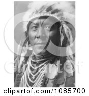 Crow Indian Called Old White Man Free Historical Stock Photography
