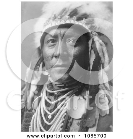 Crow Indian Called Old White Man - Free Historical Stock Photography by JVPD