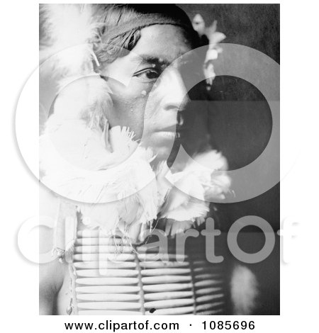 Crow Indian Called The Dancer - Free Historical Stock Photography by JVPD