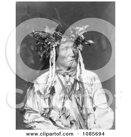 Crow Indian Chief - Free Historical Stock Photography by JVPD