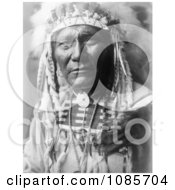 Crow Indian Man By The Name Of Ghost Bear Free Historical Stock Photography