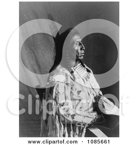 Crow Indian Man by the Name of Medicine Crow - Free Historical Stock Photography by JVPD