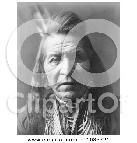 Crow Indian Man by the Name of Two Leggings - Free Historical Stock Photography by JVPD