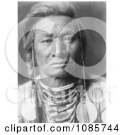 Crow Indian Man Called Chief Child Free Historical Stock Photography