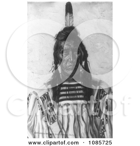 Crow Indian Man Called Chief Pretty Eagle - Free Historical Stock Photography by JVPD