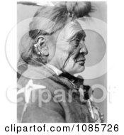 Crow Indian Man Called Hoop On The Forehead Free Historical Stock Photography