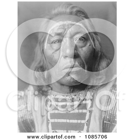 Crow Indian Man Called Leads the Wolf - Free Historical Stock Photography by JVPD
