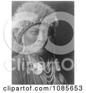 Crow Indian Man Called One Blue Bead Free Historical Stock Photography