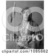 Crow Indian Man Called Tries His Knee Free Historical Stock Photography