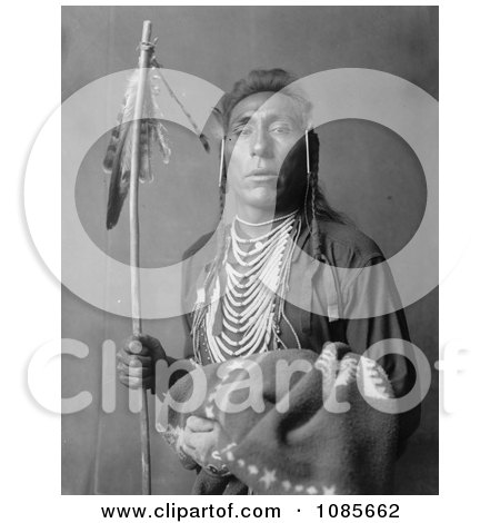 Crow Indian Man Called Tries His Knee - Free Historical Stock Photography by JVPD
