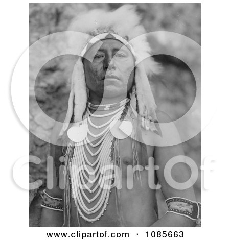 Crow Indian Man Called Which Way - Free Historical Stock Photography by JVPD