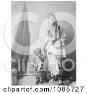 Crow Indian Mother And Child Free Historical Stock Photography
